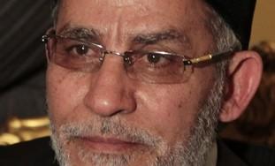 Muslim Brotherhood leader Mohamed Badie - Photo: REUTERS