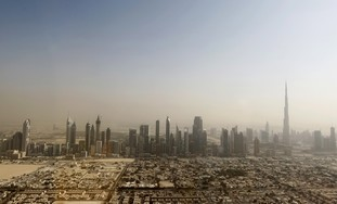 Dubai Skyline - Photo: REUTERS/Jumana El-Heloueh