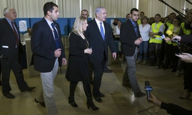 Netanyahu at the polls