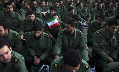 Iran revolutionary guards - Photo: Raheb Homavandi/Reuters