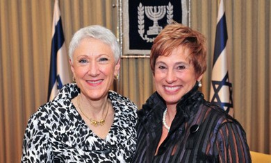Marcie Natan and Nancy Falchuk.