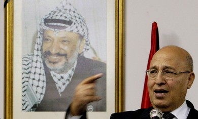 Senior Fatah member Nabil Shaath