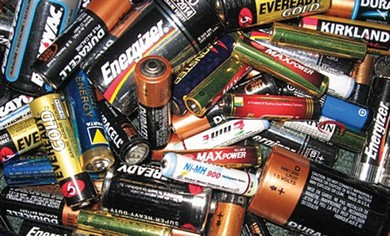 batteries must be properly disposed of