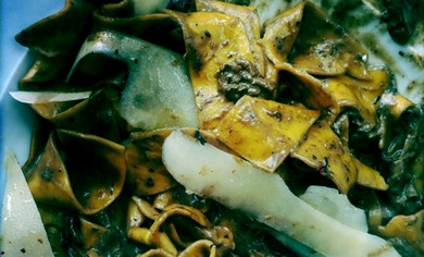 4 Funghi Pasta at Olivery
