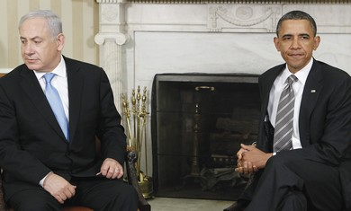 Netanyahu and Obama. - Photo: Jim Young/ Reuters