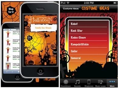 Halloween apps (courtesy)