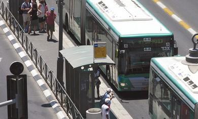 Israeli buses - By Marc Israel Sellem