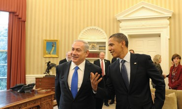 Netanyahu and Obama in Washington
