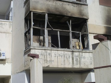 Damaged property in Homs, Syria (Reuters)
