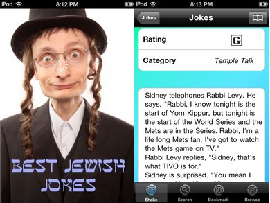 Jewish Jokes App (Courtesy)