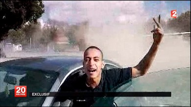 France 2 TV video of suspect Mohamed Merah (Reuters/France 2 Television)