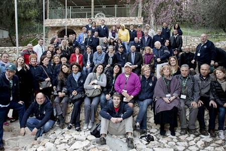 WMC participants at Ramat Menashe
