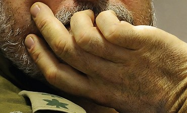 IDF soldier in thought - Photo: Israel Weiss