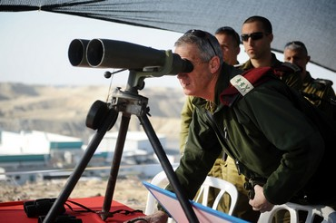 IDF Chief of General Staff Lt.-Gen. Benny Gantz (IDF Spokesman)