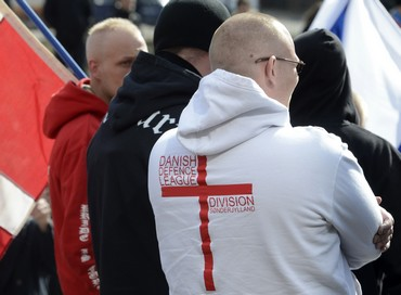 Members of the Danish Defense League (Reuters)