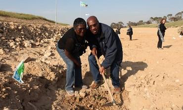 Kenyan Ambassador Augostino S.K. Njoroge, his wife