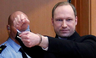 Anders Behring Breivik in court [file photo]