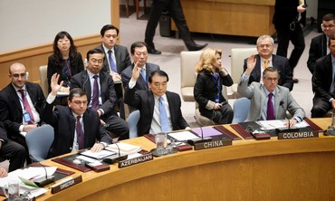 UN Security Council members vote on resolution - Photo: REUTERS