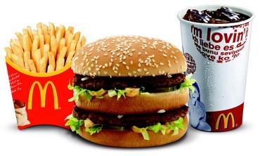 A McDonald''s Big Mac meal
