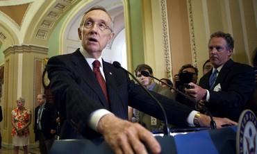 Senate Majority leader Harry Reid Photo: Reuters