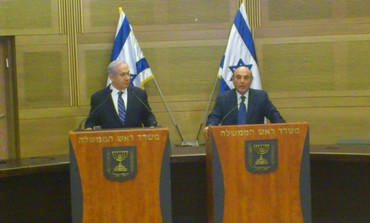 Netanyahu and Mofaz discuss unity government