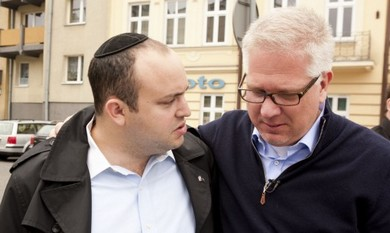 Jonny Daniels with Glenn Beck