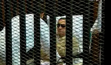 Former Egyptian president Mubarak in court