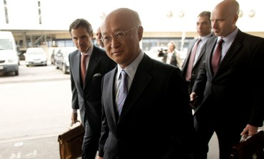 IAEA Director General Yukiya Amano in Vienna