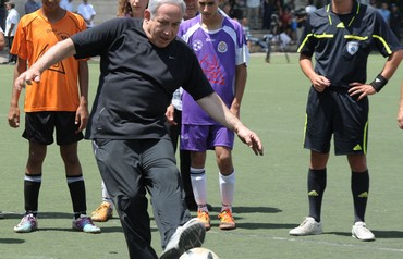 joint Arab-Jewish soccer game