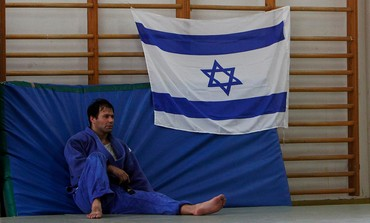Veteran judoka Ariel 'Arik' Zeevi rests