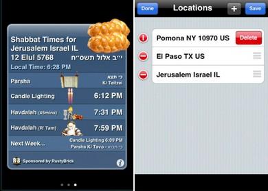 Shabbat Shalom App
