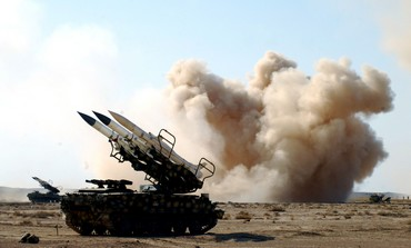 Syrian anti-aircraft missile launchers - Photo: REUTERS/Sana Sana