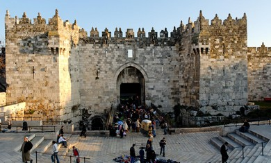 Damascus Gate (BiblePlaces.com)