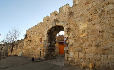 New Gate (BiblePlaces.com)
