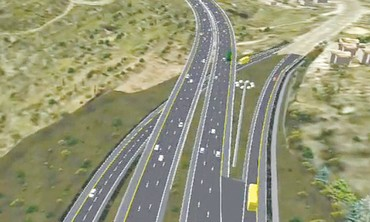 UPGRADED Highway 1 shown in artist's rendering