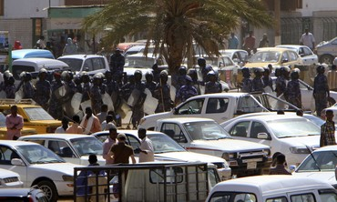 Police patrol Khartoum's main streets [file photo]