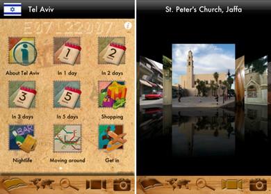 Tel Aviv/Jerusalem Apps