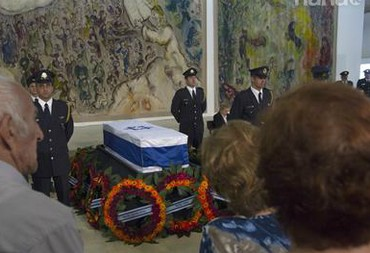 Former PM Yitzhak Shamir laid to rest at Mt. Herzl