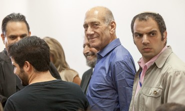 Former PM Ehud Olmert after verdict