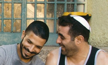 ITZIK GOLAN and Roy Assaf in 'God's Neighbors.'