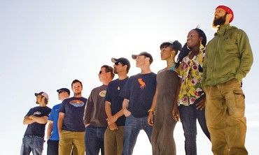 Groundation and Harrison Stafford (far right)