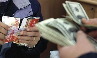shekel and dollar exchange