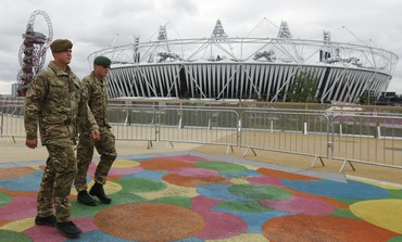 Security at London Olympics