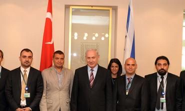 PM Netanyahu meets with Turkish journalists - Photo: Avi Ohaion/GPO