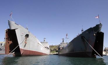 Russian naval landing ships [file photo]