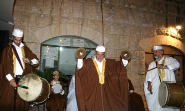 Anwar: Member of the Sufi group Anwar al-Quds
