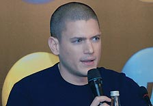 'Prison Break' star on furlough here