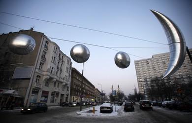Art installation (Reuters)