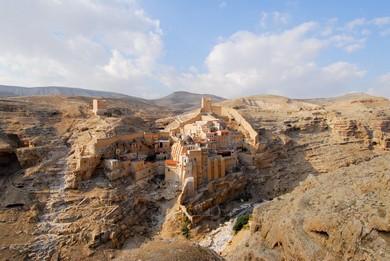 Mar Saba Monastery (BiblePlaces.com)