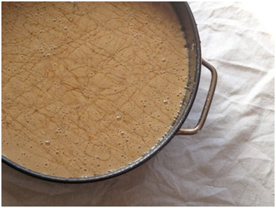 Honey cake batter (Gayle Squires)
